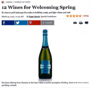 12 wines for welcoming Spring Daily meal