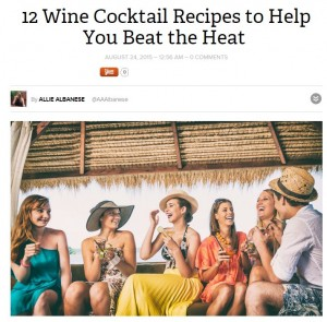 12 wine cocktail recipes goodvisuel